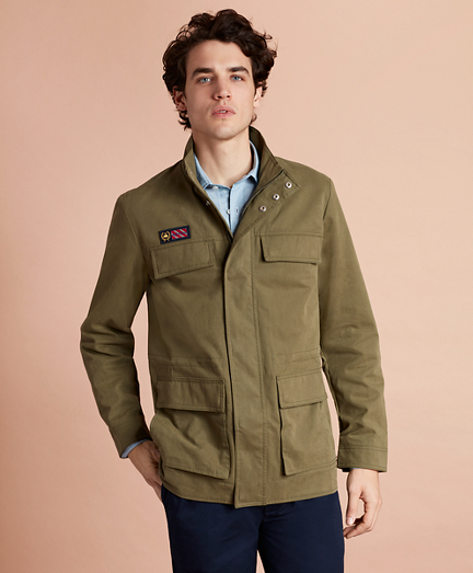Water-Repellent Field Coat