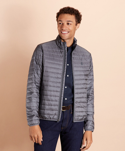Water-Resistant Puffer Jacket