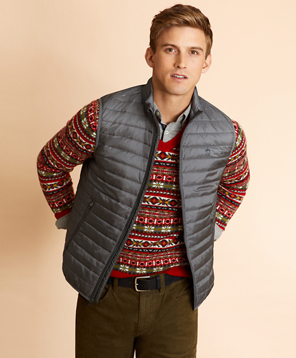 Water-Resistant Puffer Vest
