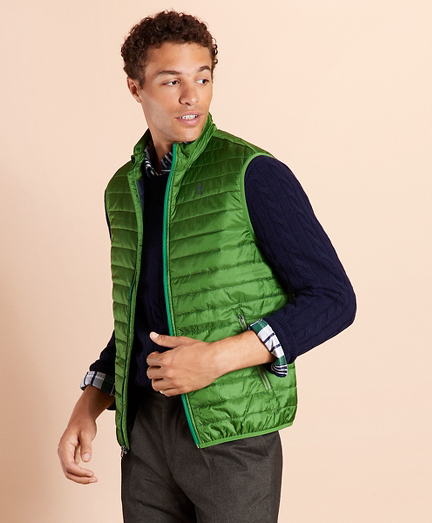 Water-Resistant Puffer Vest