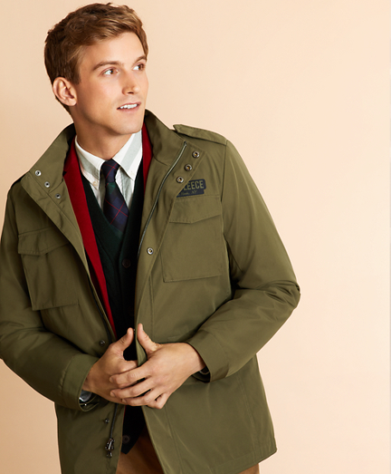 Four-Pocket Field Jacket with Removable Vest