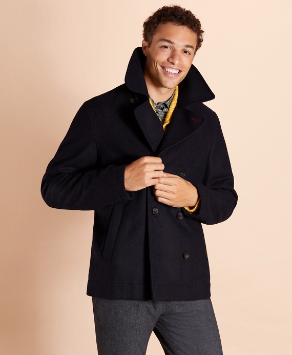 Wool Peacoat Navy