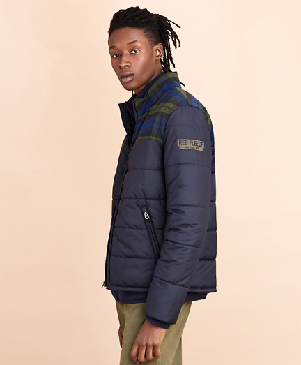 Color-Block Puffer Jacket