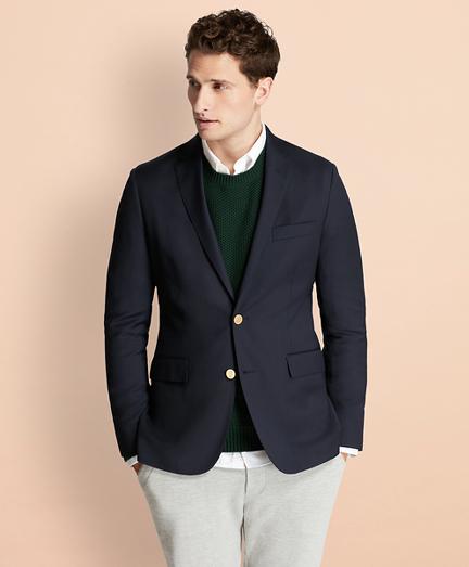 Stretch Wool Twill Blazer