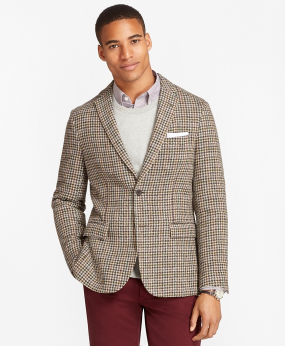 Houndscheck Wool Sport Coat Multi