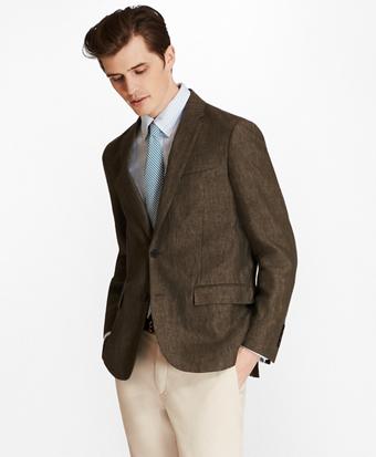 Two-Button Linen Sport Coat