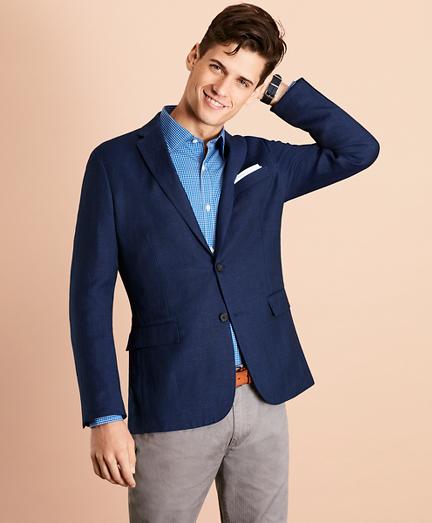 Linen-Blend Twill Sport Coat