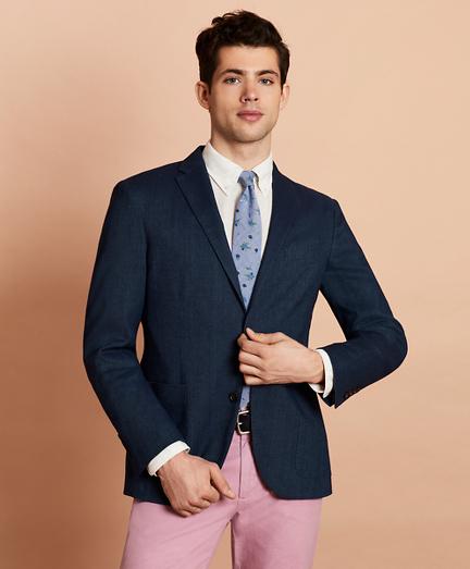 Linen-Blend Sport Coat
