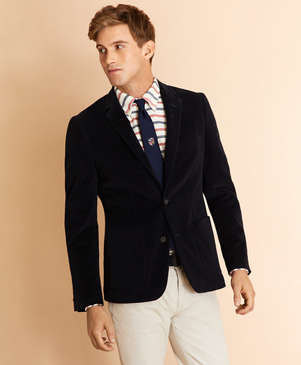 Moleskin Two-Button Sport Coat