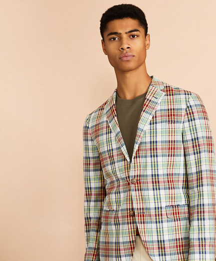 Madras Cotton Sport Coat