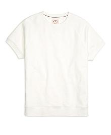 Short-Sleeve Crewneck Sweatshirt