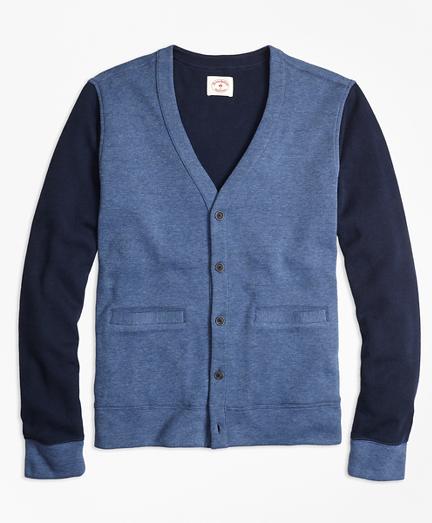 Double-Knit Cotton Cardigan