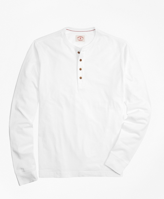 3d8ef75e7e7 Garment-Dyed Henley - Brooks Brothers
