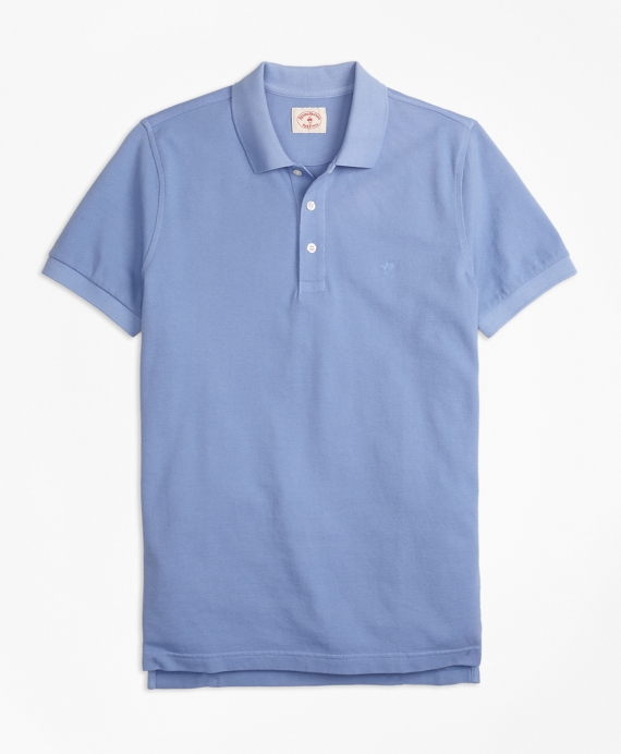 Garment-Dyed Cotton Pique Polo Shirt - Brooks Brothers 9913071c1
