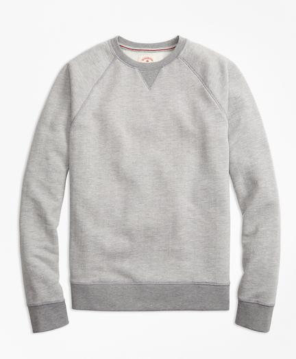 Herringbone Jacquard Sweatshirt