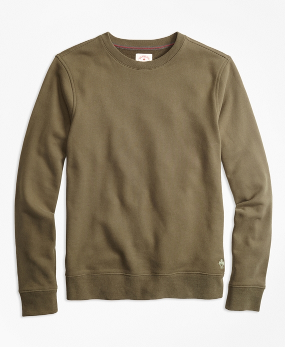 Cotton French Terry Sweatshirt by Brooks Brothers