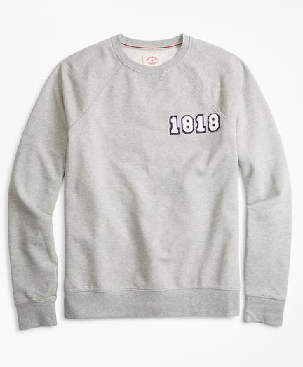 French Terry 1818 Crewneck Sweatshirt