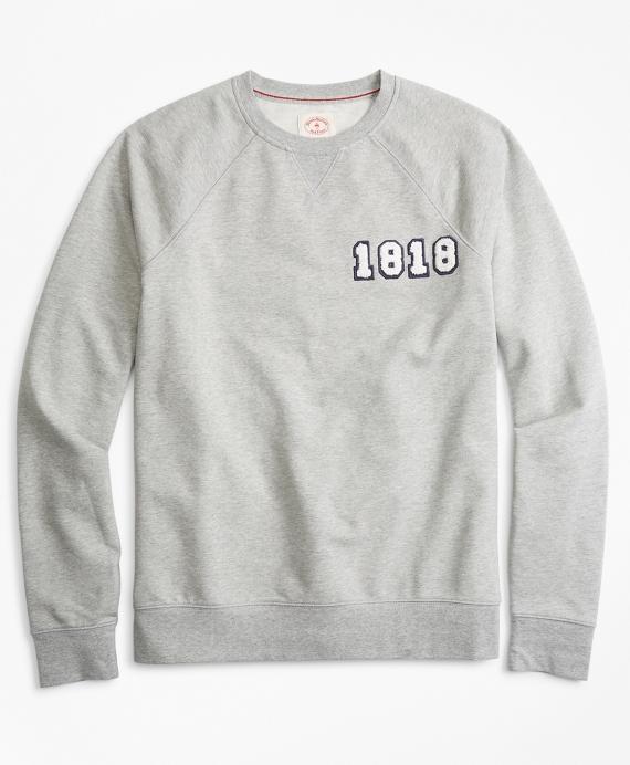 French Terry 1818 Crewneck Sweatshirt Grey