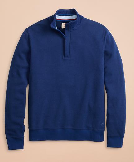 Pique Fleece Half-Zip