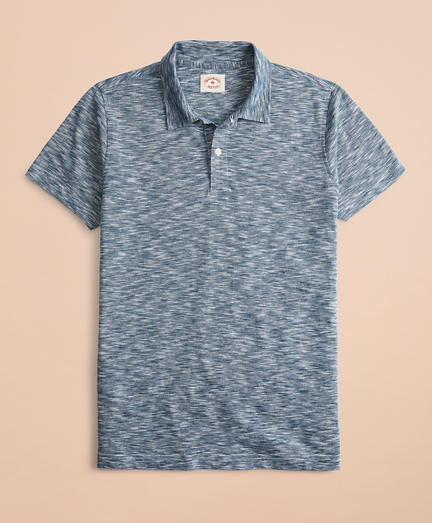 Feeder Stripe Slub Jersey Polo Shirt
