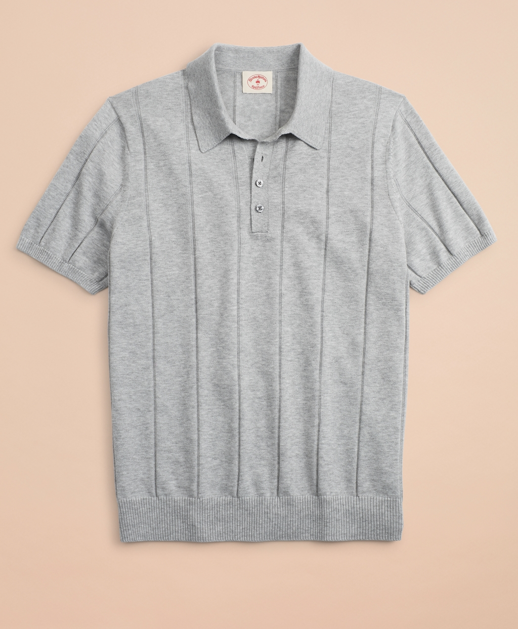 Retro Clothing for Men | Vintage Men's Fashion Brooks Brothers Mens Striped Cotton Sweater Polo $59.50 AT vintagedancer.com