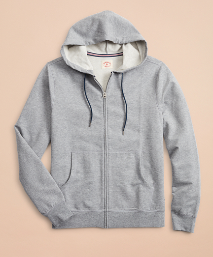 French Terry Lightweight Zip-Up Hoodie