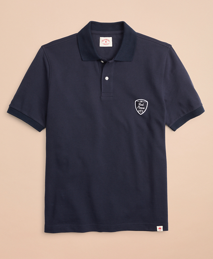 Pique Patch Polo Shirt