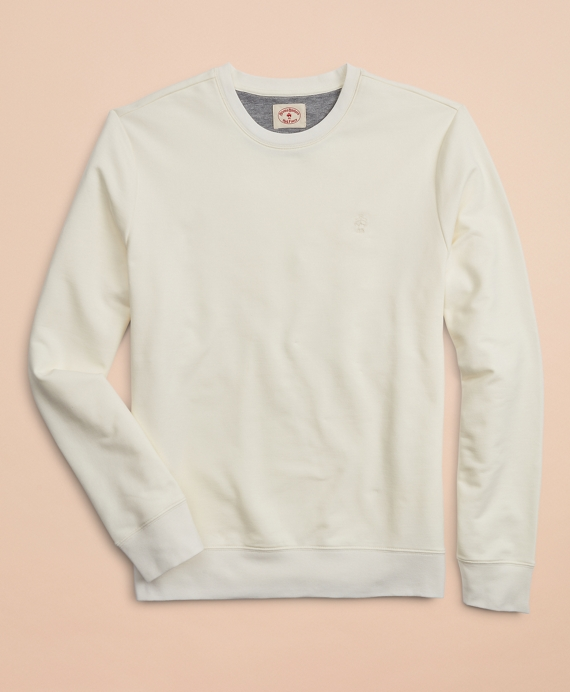 French Terry Lightweight Crewneck Sweatshirt Sailcloth