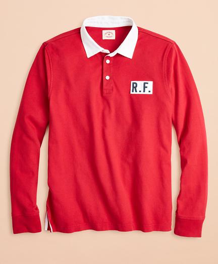 Cotton Jersey Logo Rugby Shirt