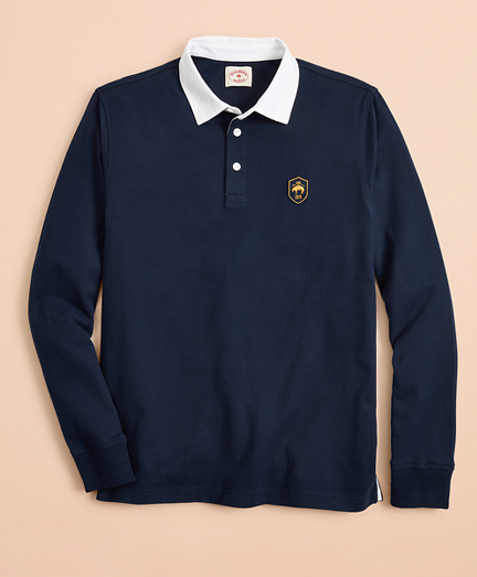 Cotton Jersey Patch Rugby Shirt