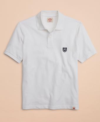 Pique Patch Polo Shirt