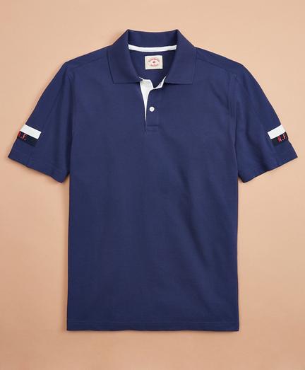 Pique Initial Polo Shirt