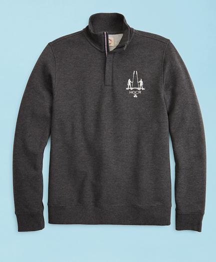 2019  Head Of The Charles® Regatta Pique Half-Zip Fleece Sweatshirt