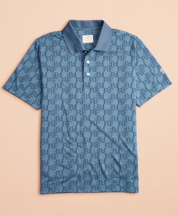 Performance Series Initial Polo Shirt Blue