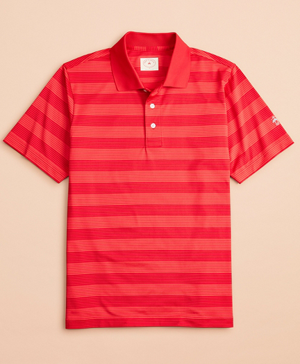 Performance Series Striped Polo Shirt