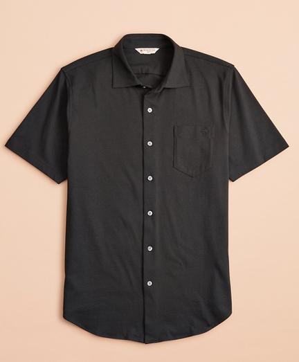 Jersey Cotton Short-Sleeve Shirt