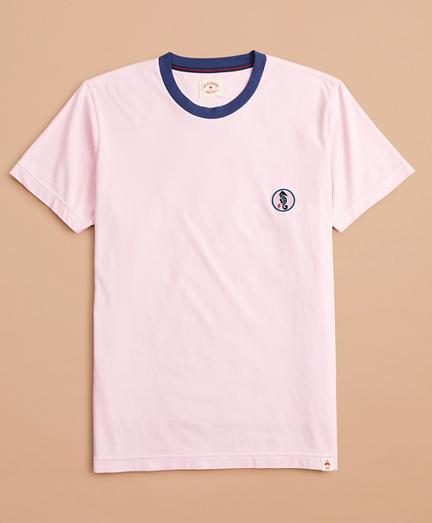 Cotton Seahorse Patch T-Shirt