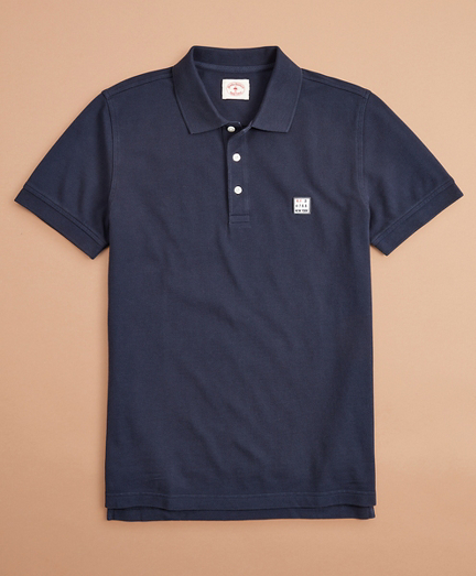Limited-Edition Red Fleece Polo Shirt