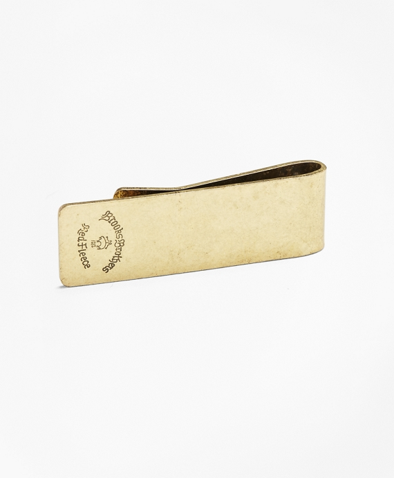 Logo Money Clip Gold
