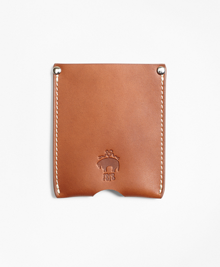 Cognac Leather Card Case