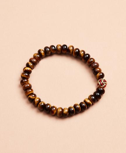 Beaded Stretch Knot Bracelet