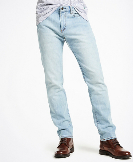 116 Slim Stretch Jeans in Indigo Denim