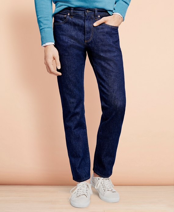 901 Slim Straight Stretch Jeans in Indigo Denim Navy Wash