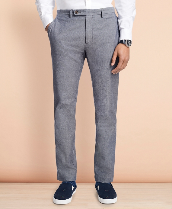 Slim-Fit Herringbone Twill Chinos Charcoal