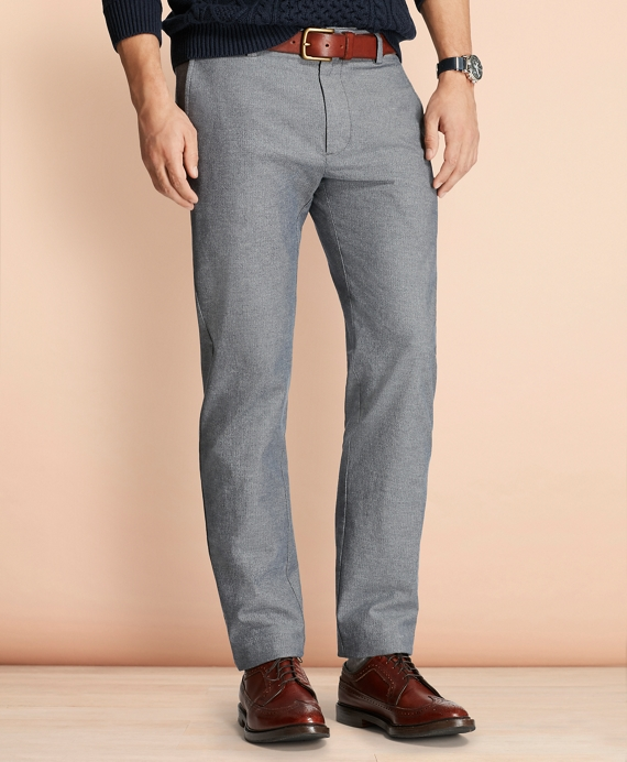 Herringbone Twill Chinos Charcoal