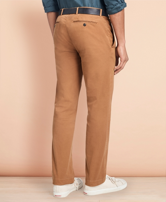 3e41f1d01904a1 Slim-Fit Garment-Dyed Stretch Chinos - Brooks Brothers