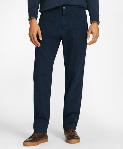 Brushed Twill Surplus Pants