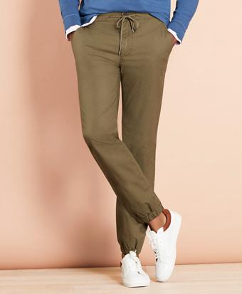 Cotton Ripstop Jogger Pants