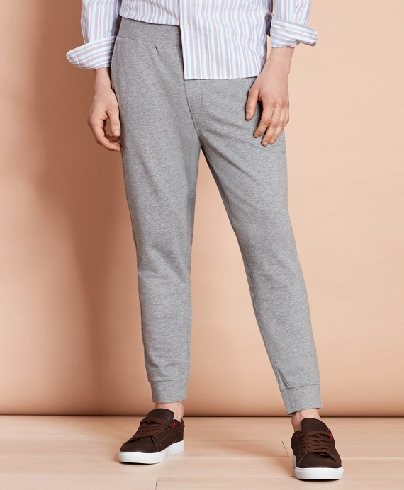 Lightweight French Terry Sweatpants Grey