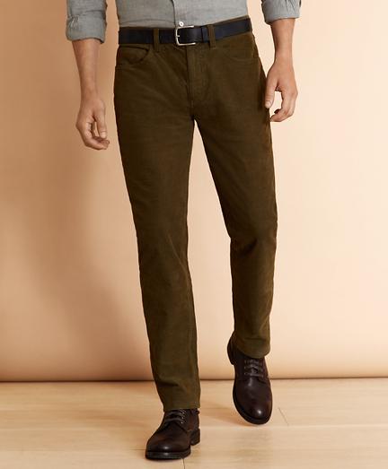 Five-Pocket Corduroy Pants